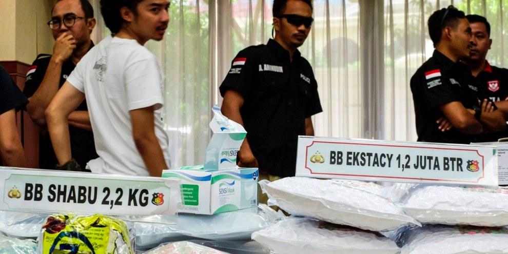 La lutte contre le trafic de stupéfiants s'est fortement durcie en 2017. © AFP/Getty Images
