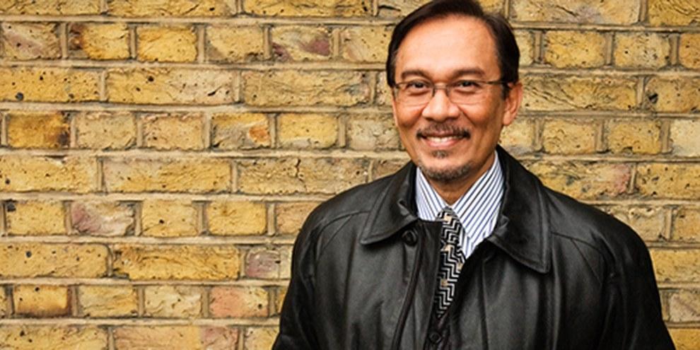 L'opposant politique malaisien Anwar Ibrahim est jugé pour «sodomie». © AI