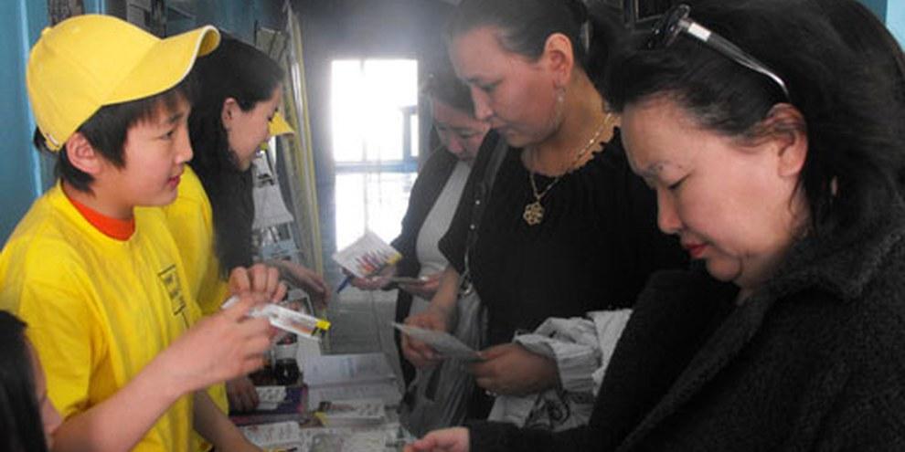 Amnesty International s'est activement engagée pour l'abolition de la peine de mort en Mongolie. © AI