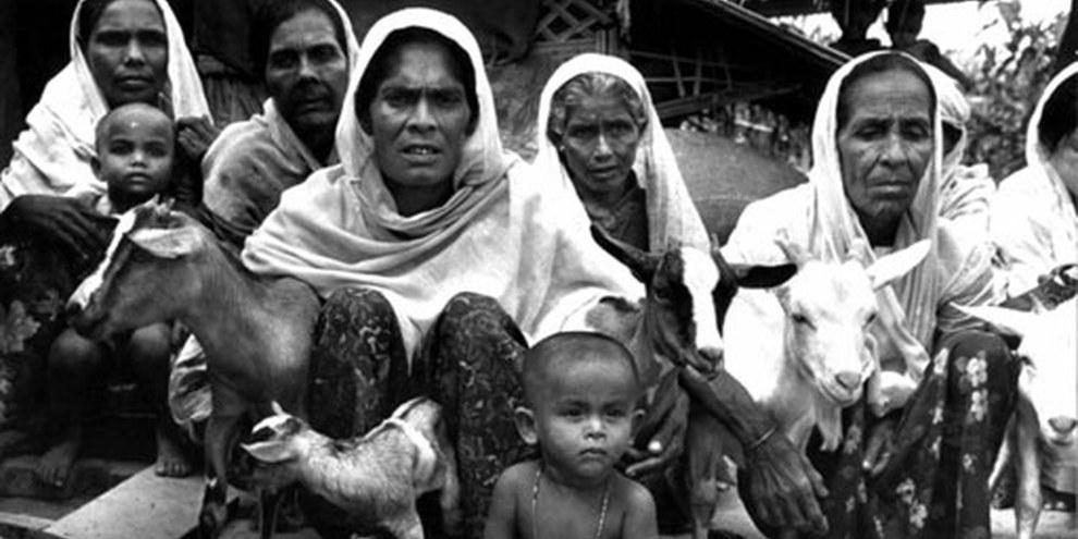Réfugiés Rohingyas. © UNHCR/Y Saita