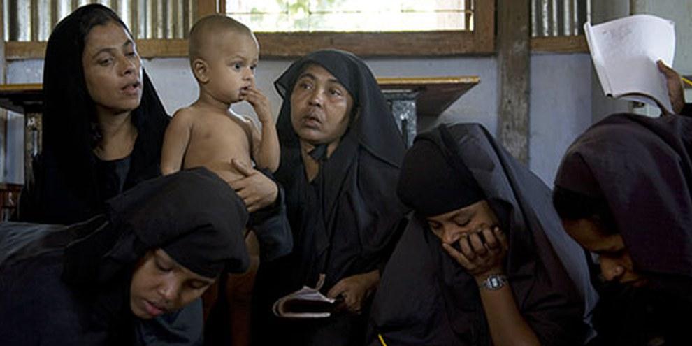 Des dizaines de milliers de Rohingyas embarquent sur des bateaux  pour échapper aux persécutions dont ils font l'objet au Myanmar.  ©  UNHCR / S. Kritsanavarin