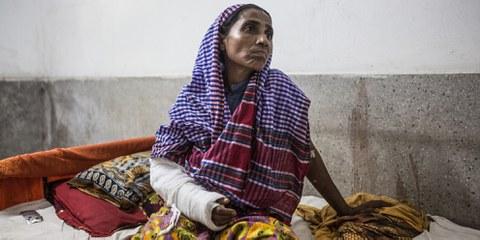 Bangladesh, septembre 2017 © Amnesty International
