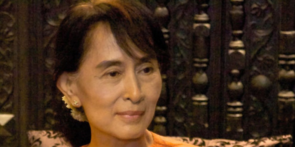 Aung San Suu Kyi © World Economic Forum on East Asia