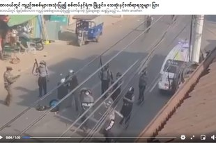 Vaste arsenal de troupes déployées lors de la répression meurtrière des manifestations