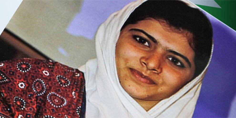 Malala Yousufzai se bat pour l'accès à l'éducation des fillettes. © APGraphicsBank