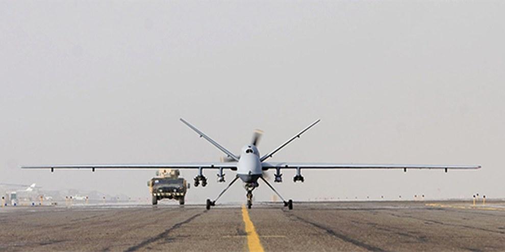Certaines attaques aveugles d'avions sans pilote pourraient être considérées comme crime de guerre. © Rinze Klein, USAF