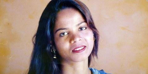 En novembre 2010, un tribunal de première instance avait condamné à la peine de mort Asia Bibi pour blasphème. Elle vient d'être acquittée. © DR