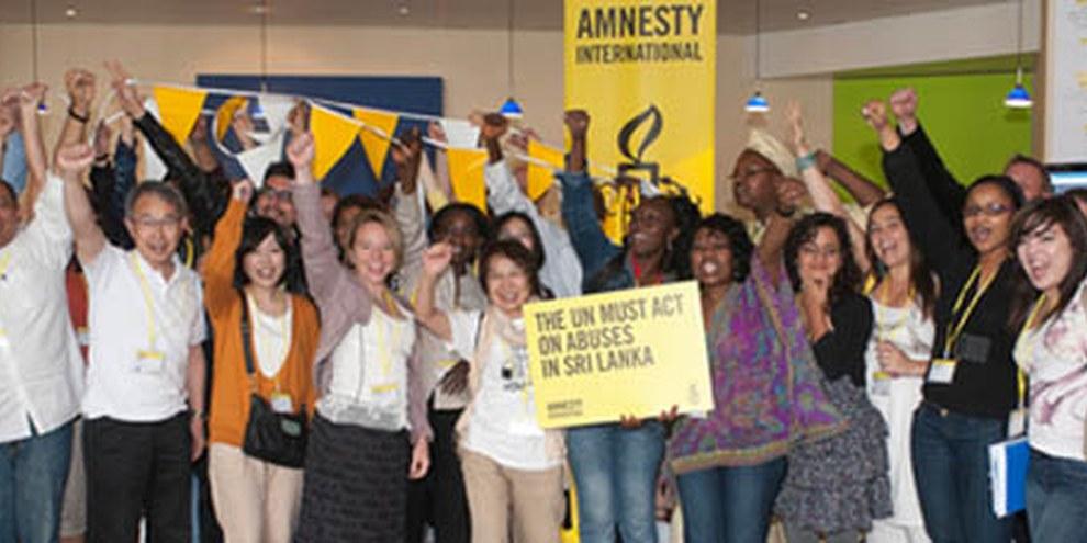 Depuis 2011, Amnesty demande l'ouverture d'une enquête indépendante sur les crimes commis au Sri Lanka. © AI