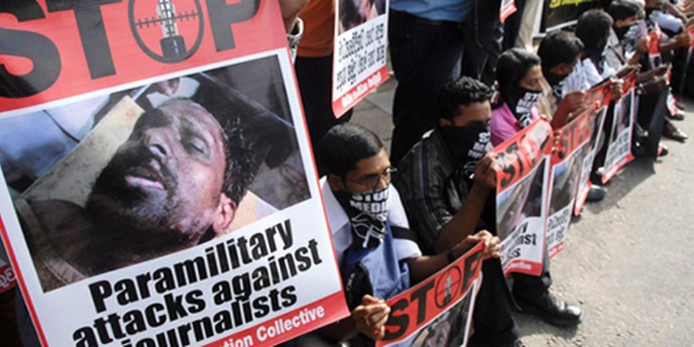 La répression et les persécutions ont poussé de nombreux Sri Lankais à fuir leur pays. © AP Photo