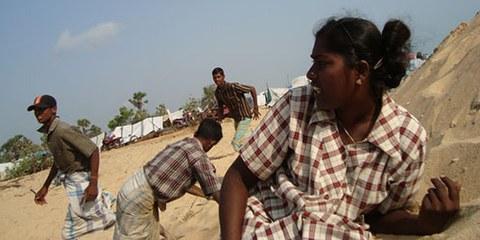 Les civils ont été les principales victimes des violences des derniers mois de la guerre. © DR