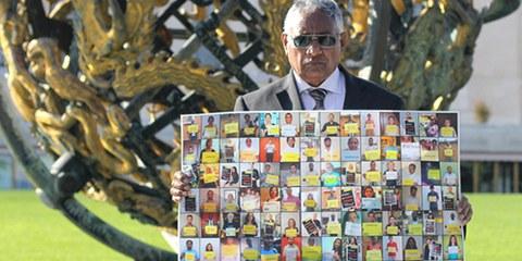 Après le succès de la campagne «Sri Lanka: Exigez vérité et justice», les ONG appellent désormais à l'adoption de mesures concrètes. © AI