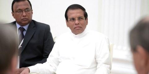 Alors que le Sri Lanka n'a plus exécuté de prisonniers depuis 1976, le président de la République Maithripala Sirisena a annoncé en juillet 2018 vouloir pendre les trafiquants de drogue. ©Kremlin.ru