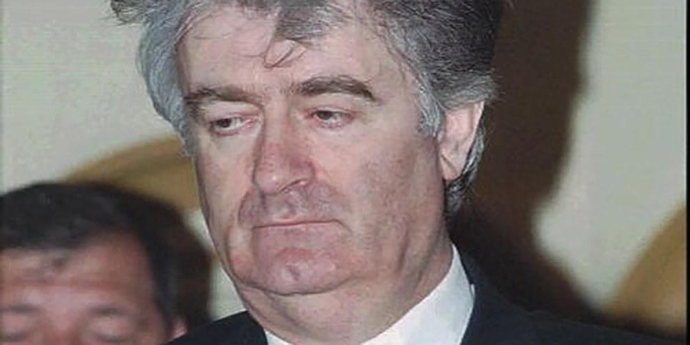 L'ancien dirigeant bosno-serbe Radovan Karadžić a été déclaré coupable de génocide pour le massacre de Srebrenica, lors duquel plus de 7 000 hommes et garçons bosniaques ont été tués. © APGraphicsBank