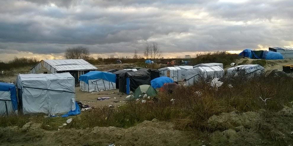 Calais, février 2016 © Amnesty International, Section française
