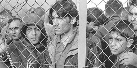 Les demandeurs d'asile affluent, mais les centres d'accueil sont pleins. © Georgios Giannopoulos