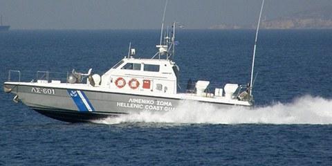 La vie des migrants est menacée par les méthodes musclées des garde-côtes grecs. © K. Krallis