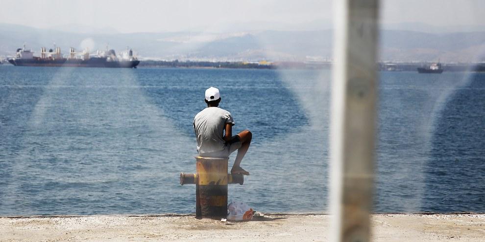 D'après la police grecque, le 20 octobre, 14 ressortissants syriens ont été renvoyés de l'île de Kos vers Adana, en Turquie, aux termes des dispositions de l'accord conclu entre la Turquie et l'Union européenne. © Giorgos Moutafis/Amnesty International