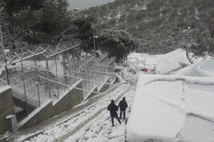 Conditions épouvantables pour les demandeurs d'asile bloqués sur les îles grecques
