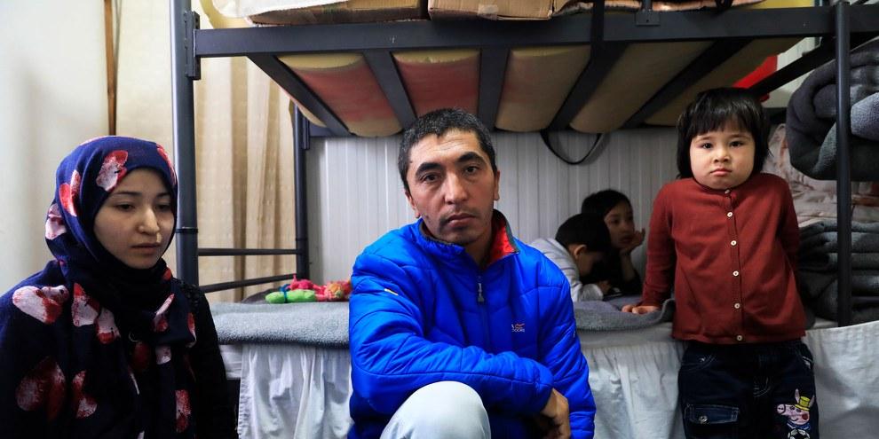 Conditions désastreuses dans le camp de réfugiés de Moria à Lesbos. © Giorgos Moutafis / AI