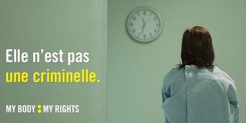 Les femmes qui interrompent leur grossesse en Irlande encourent jusqu'à quatorze ans de prison.© Amnesty International