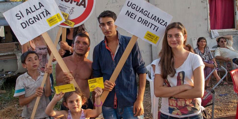 L'Italie a été critiquée à de nombreuses reprises pour son traitement de la minorité Rom. © AI (photo: Fernando Vasco Chironda)