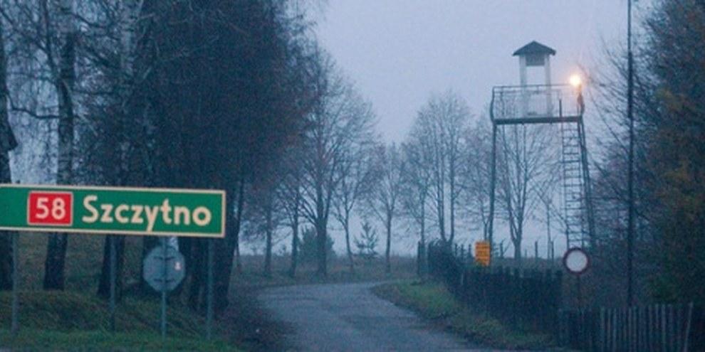 Lieu où s'est peut-être trouvée la prison secrète de la CIA en Pologne, Stare Kiejkuty. © AP Photo/Czarek Sokolowski