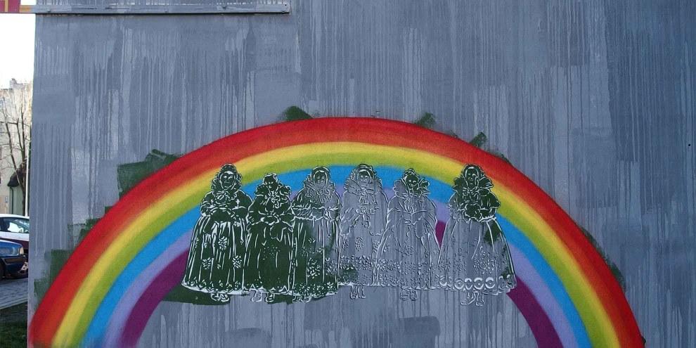 La communauté des LGBTI fait face à une discrimination généralisée et enracinée en Pologne. ©Dariusz Packowski