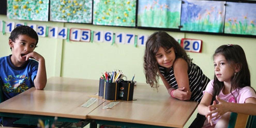 """Les enfants roms sont trop souvent relégués à un enseignement """"pratique"""". © Jiri Dolezel"""
