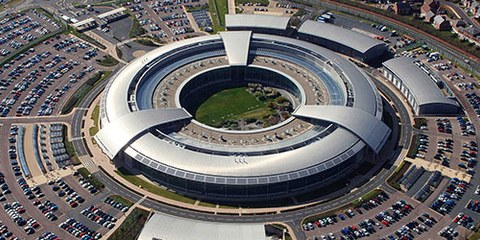Government Communications Headquarters (GCHQ), agence britannique du renseignement électronique © DR