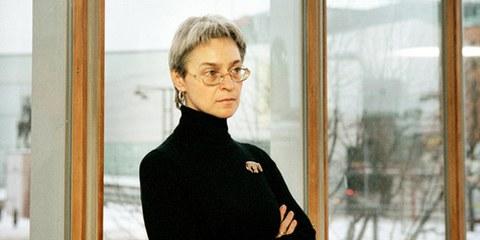 Anna Politkovskaïa (décembre 2002). © Katja Tähjä