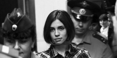 La chanteuse Nadejda Tolokonnikova a été mise en isolation parce qu'elle avait entamé une grève de la faim. © Denis Bochkarev