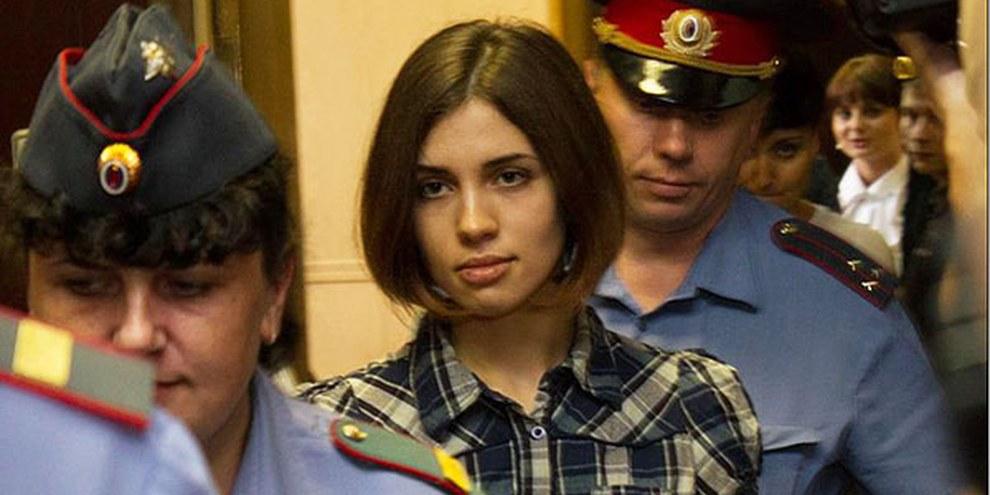 Les membres des Pussy Riot pourraient être libérées après l'adoption d'une loi d'amnistie  par le Parlement russe. © Denis Bochkarev