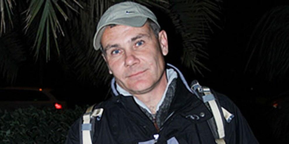Evgueni Vitichko a été arrêté le 4 février 2014 à Tuapsé, un quartier de Sotchi où les Jeux se dérouleront. © Amnesty International