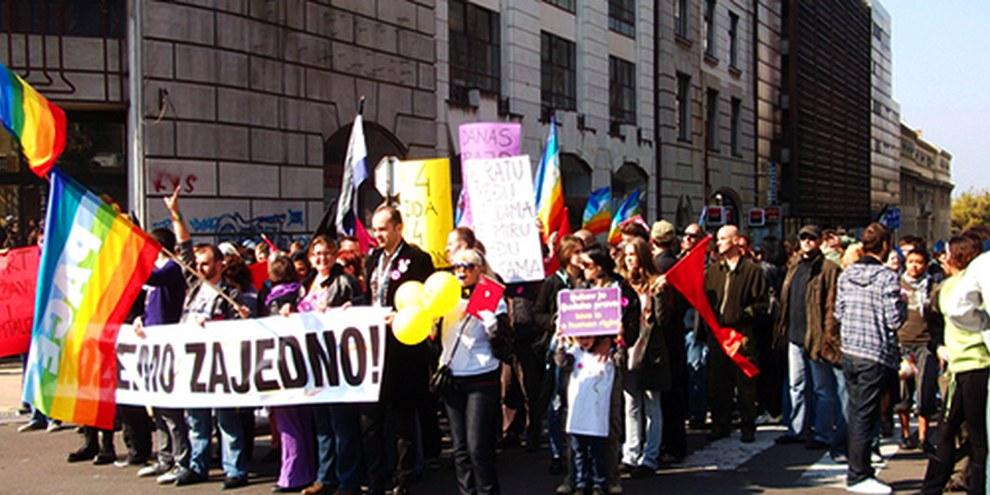 Malgré le succès de la manifestation de 2010, les éditions 2011 et 2012 avaient été interdites. © AI