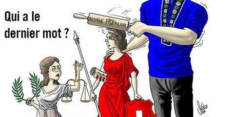 Le projet d'initiative menace nos droits humains fondamentaux. © Amnesty Suisse
