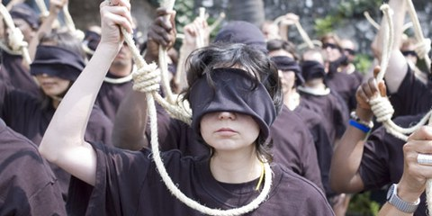 Action contre la peine de mort © AI