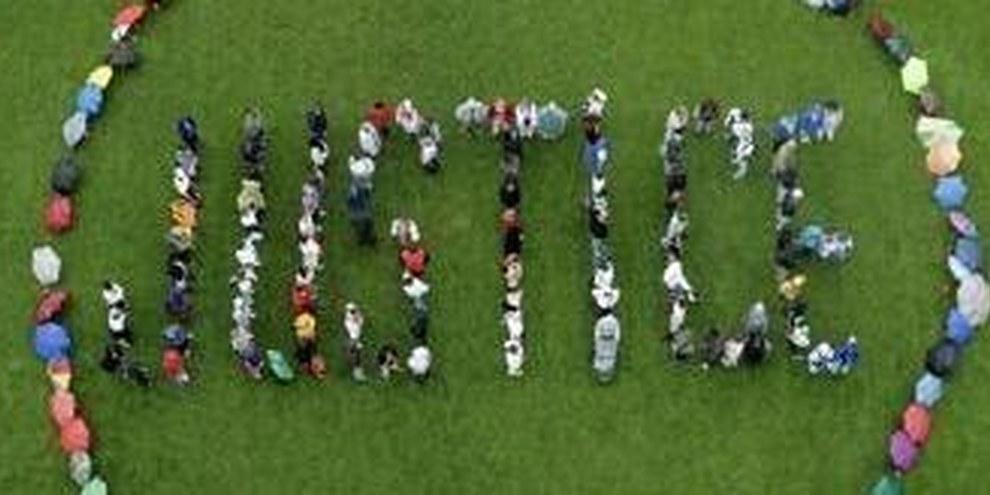 Action de solidarité avec les peuples arabes à Berne. © DR