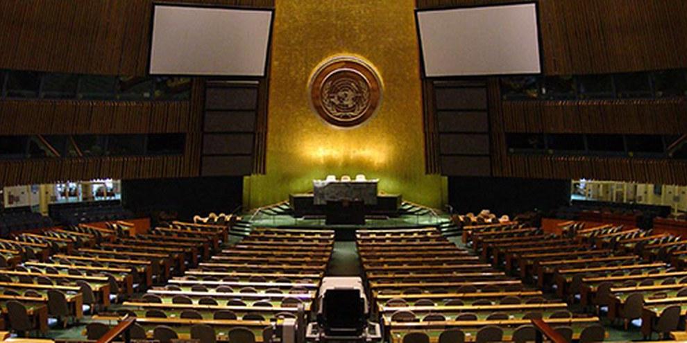 Le 24 septembre 2013 débutera la 68ème session de l'Assemblée générale des Nations Unies à New York. © DR