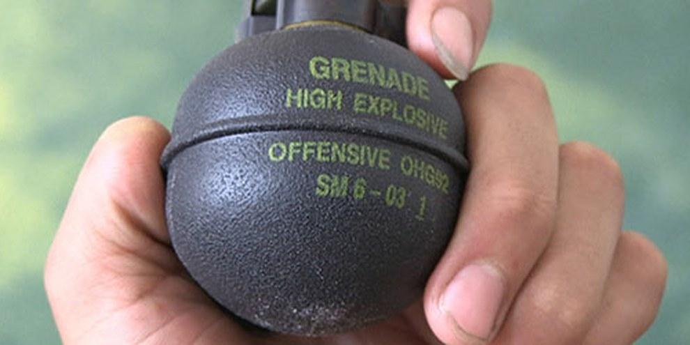Un produit suisse utilisé dans le conflit syrien. © SRF