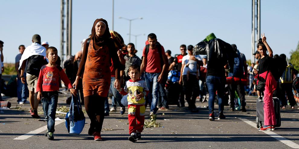 En refoulant des demandeurs d'asile vers l'Italie, la Grèce ou la Hongrie, la politique d'asile de la Suisse bafoue les droits des réfugiés. © Reuters