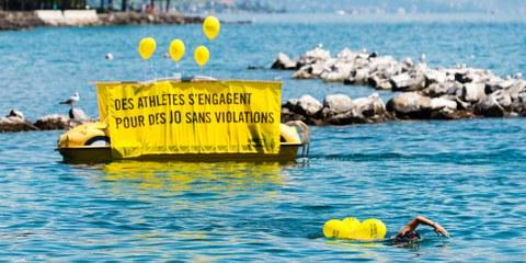 Les athlètes se sont relayé·e·s à Lausanne, Capitale olympique. © P-A Cordey/AI – Cliquer sur l'image pour voir la galerie d'images