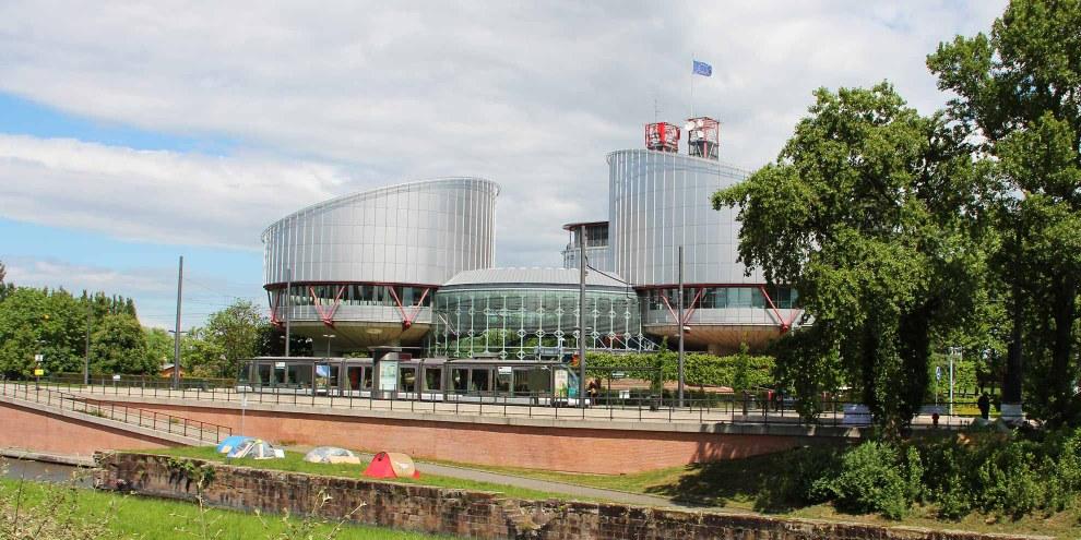 Cour européenne des droits de l'homme à Strasbourg. © Amnesty International