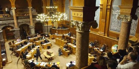 Le Conseil des États a rejeté une initiative du BDP. © parlament.ch