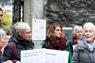 Aide aux réfugiés: la condamnation d'Anni Lanz confirmée