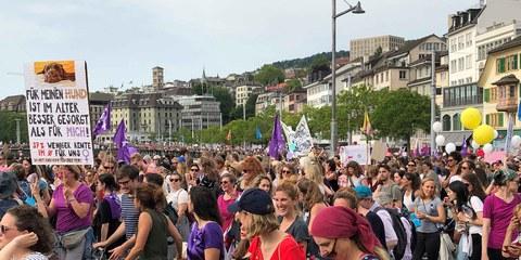 Mobilisation historique pour les droits des femmes © Amnesty International