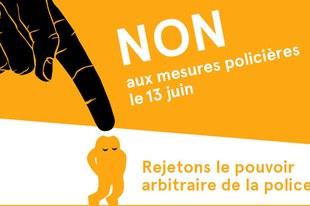 Une coalition d'ONG dit «non» à la loi sur les mesures policières
