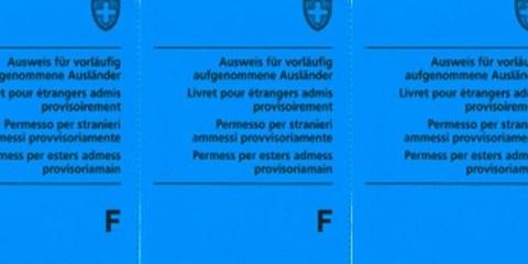 Le permis F actuel est inadapté pour les personnes fuyant la guerre  ©SEM