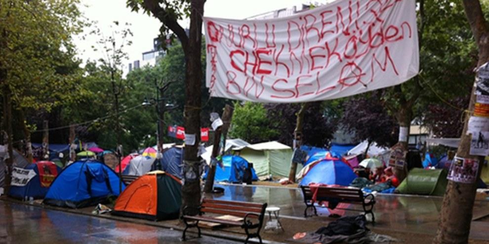 Les manifestants du parc Gezi n'ont pas baissé les bras. © AI/Pınar İlkiz