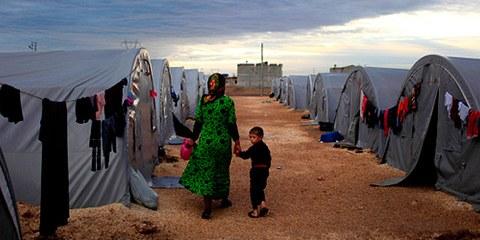La Turquie ne peut à répondre aux besoins des centaines de milliers de réfugiés syriens. En conséquence, beaucoup vivent dans le dénuement le plus total. © 2014 Getty Images