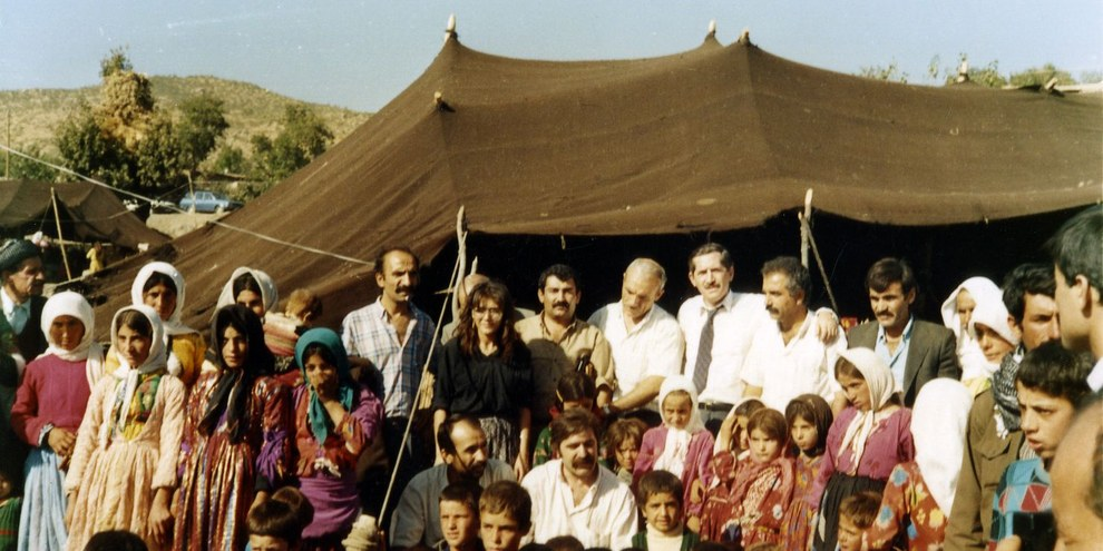 Dans les années 1990, des centaines de villages kurdes ont été détruits par les forces de sécurité, en marge du conflit avec le PKK. Quelque deux millions de personnes ont dû prendre la fuite. © AI